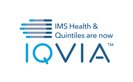IQVIA Vertical Logo - Color (Transition Line)